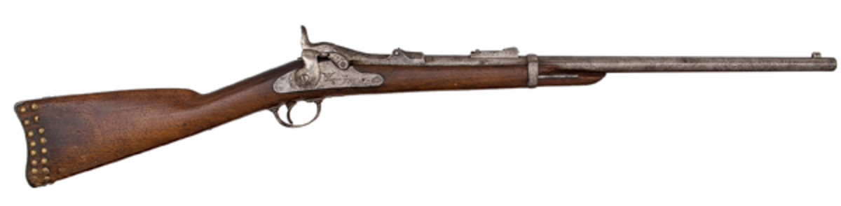 Springfield Model 1873 Trapdoor Carbine from the Custer Period - sold for $35,650.