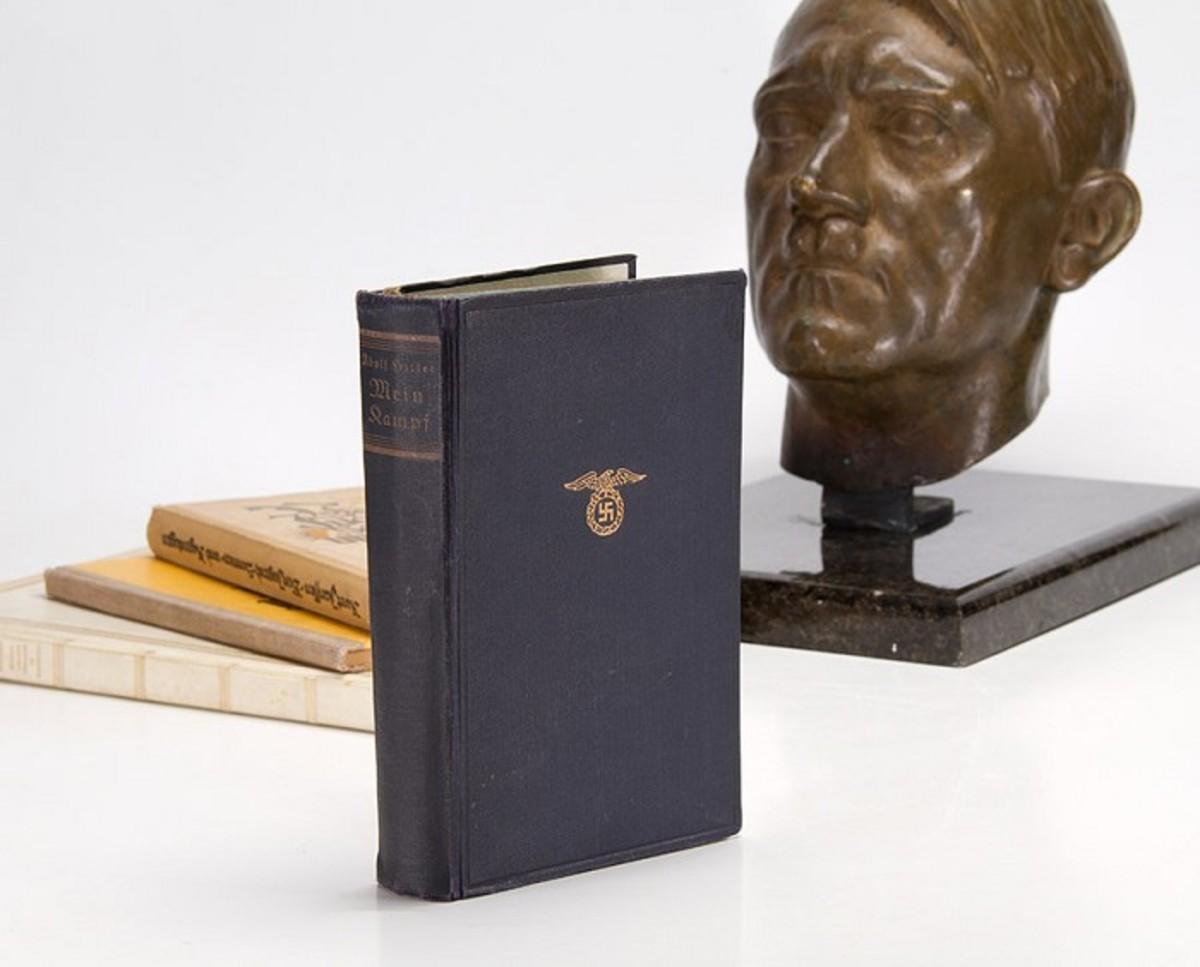Adolf Hitler's copy of Mein Kampf.
