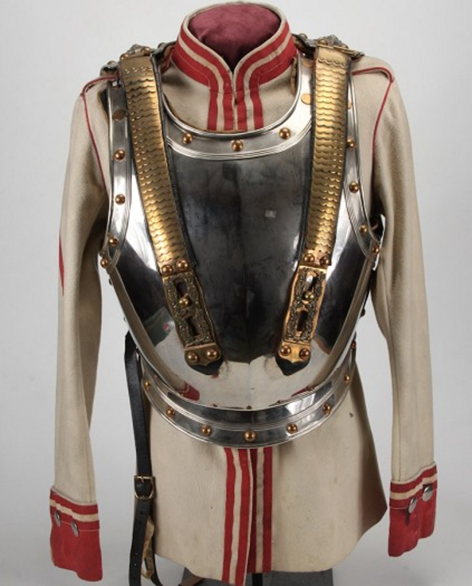 Imperial German Cuirassier Tunic and Cuiras