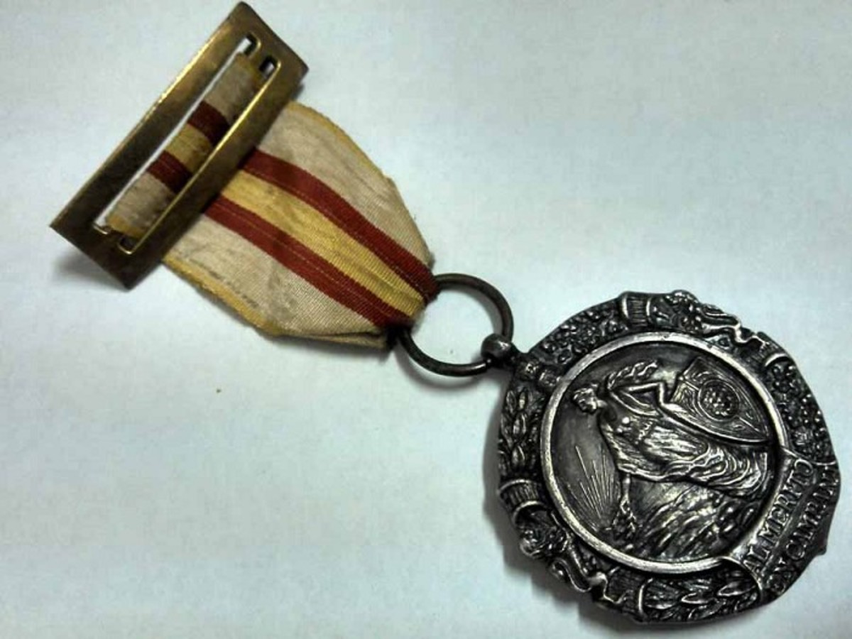Spanish Franco Era Military Merit Medal