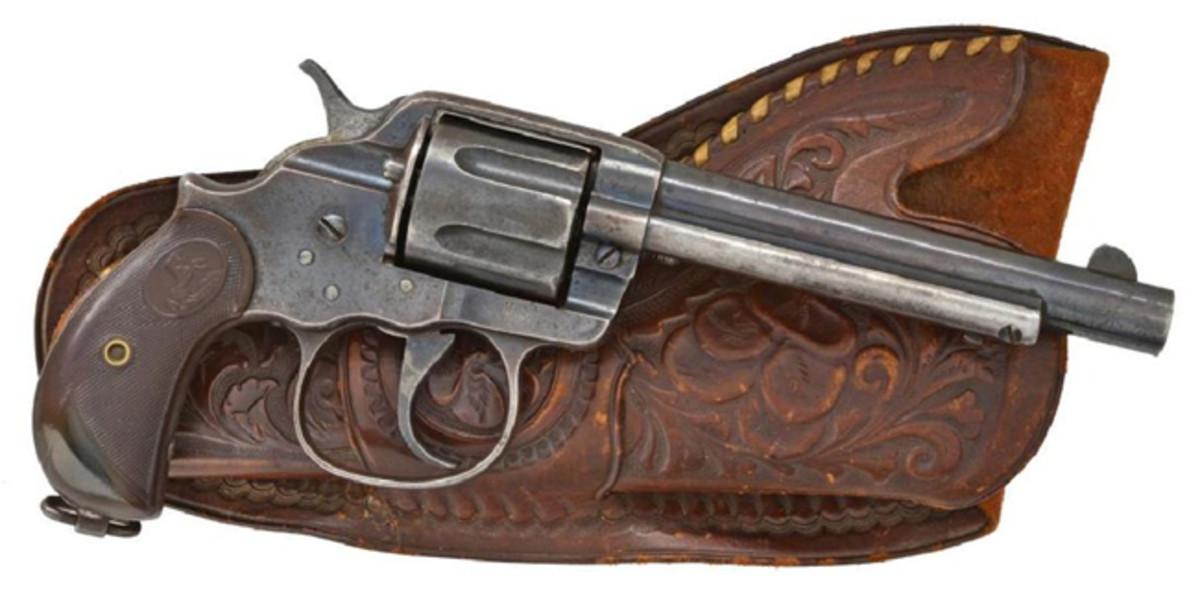COLT MODEL 1902 U.S. MARKED REVOLVER.Sold for $1,400