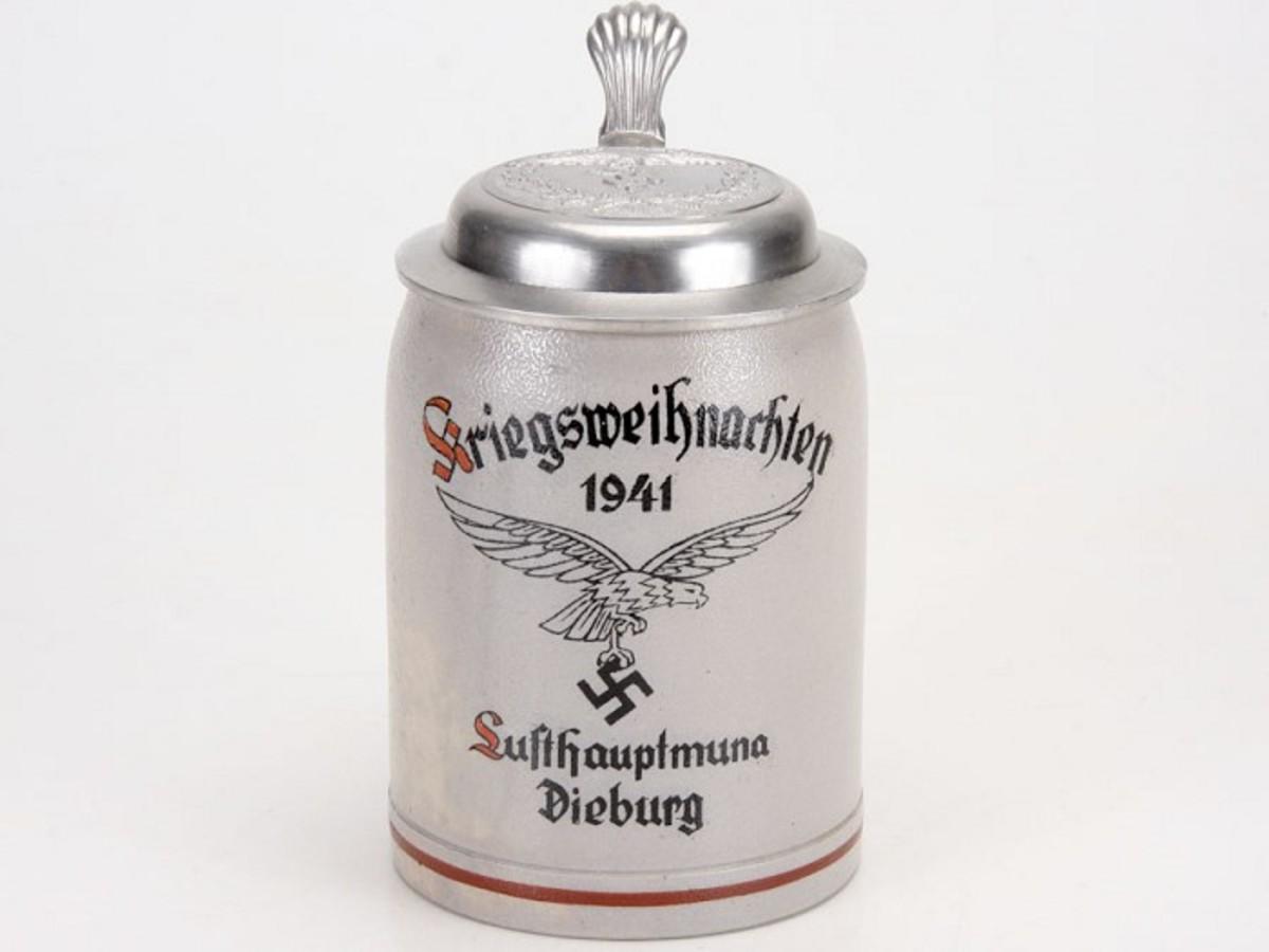 Luftwaffe Christmas Beer Stein, 1941