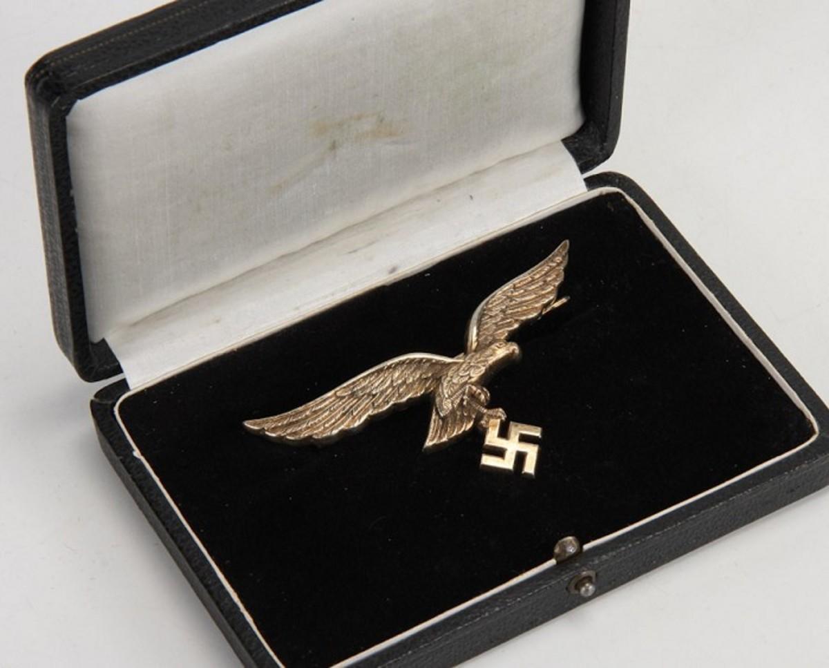 Luftwaffe General's Breast Eagle, Cased