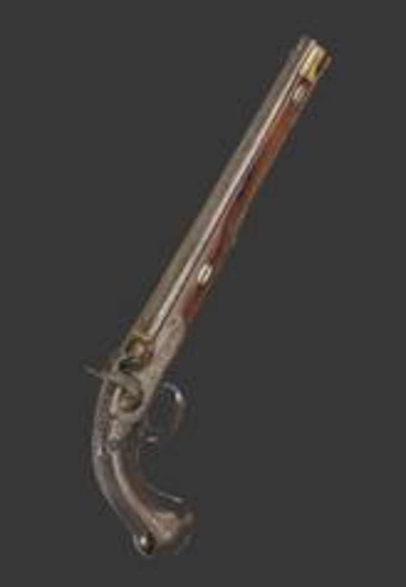 Nikolay Goltiakov significant Russian percussion pistol, Tula, circa 1880. HP: 23000 Euros