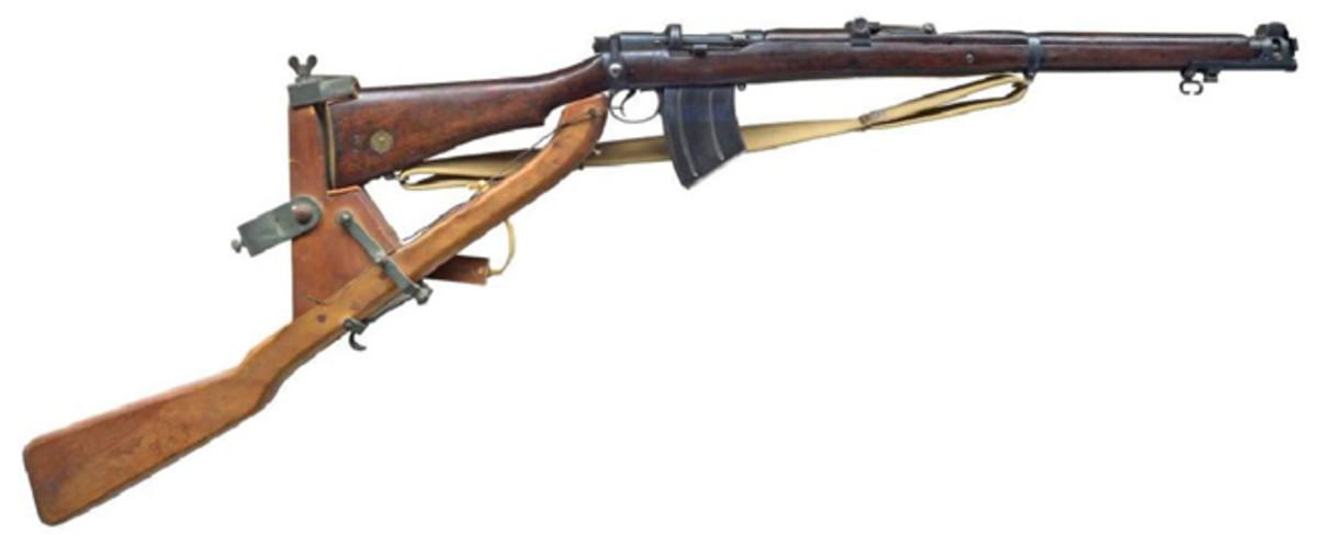 ENFIELD SMLE MK III* RIFLE WITH TRENCH WARFARE MOUNTSold for $5,500