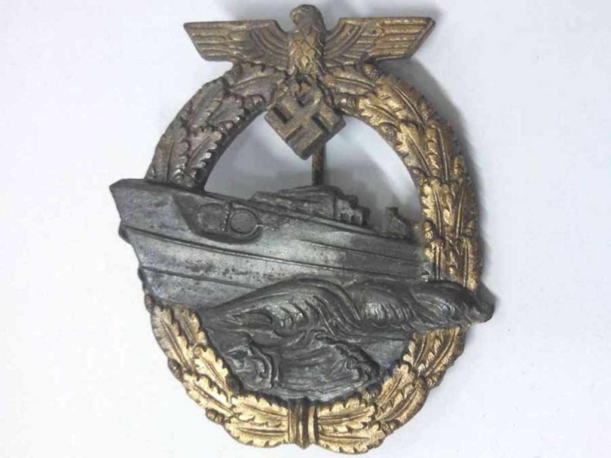 S-Boat Badge, 2nd Style