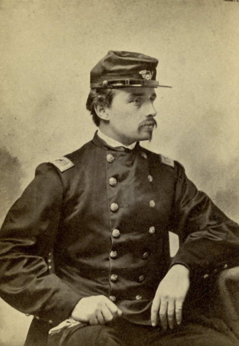 Robert Gould Shaw (October 10, 1837 – July 18, 1863) was into a prominent abolitionist family, he accepted command of the first all-black regiment (54th Massachusetts).
