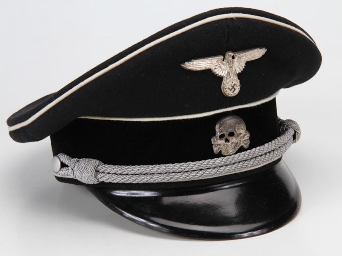 SS Officer Visor, Allgemeine SS