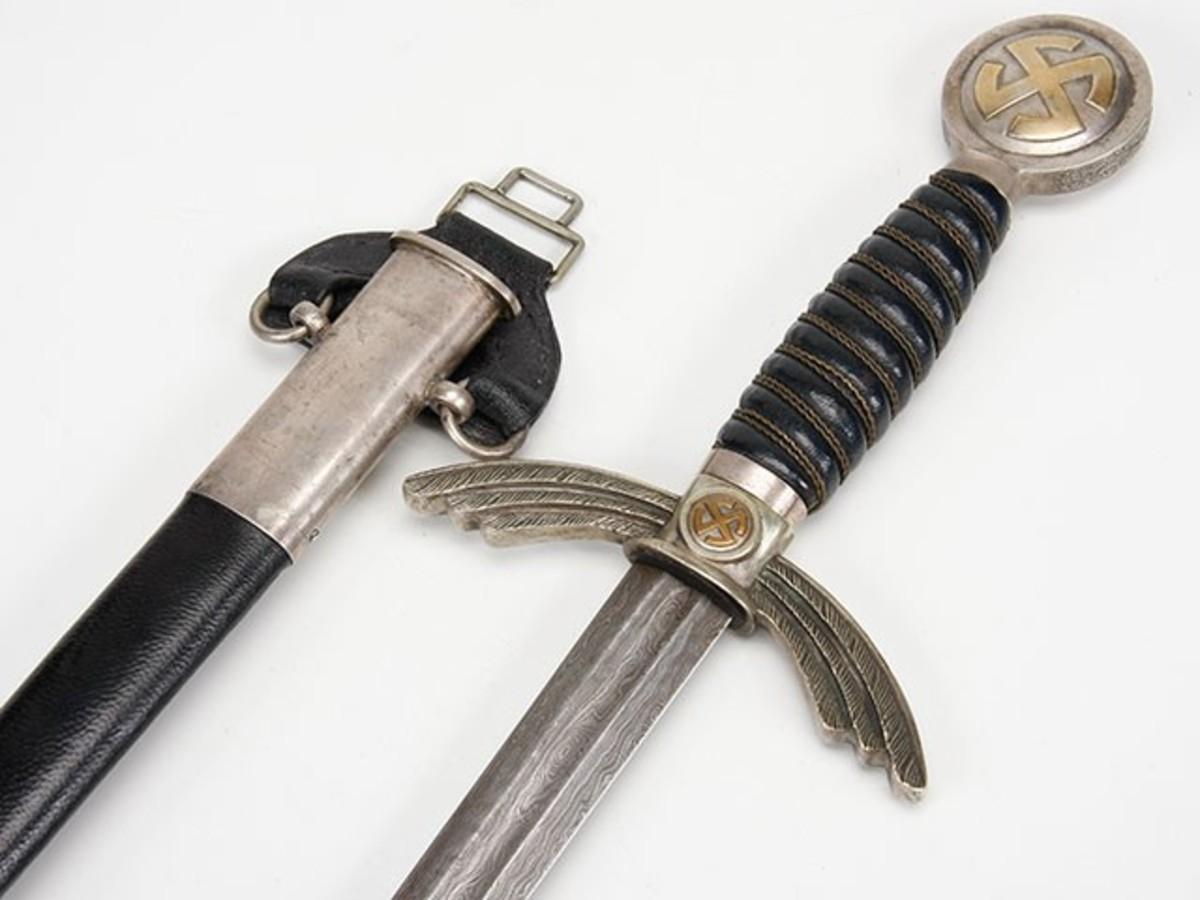 Luftwaffe Sword, Damascus