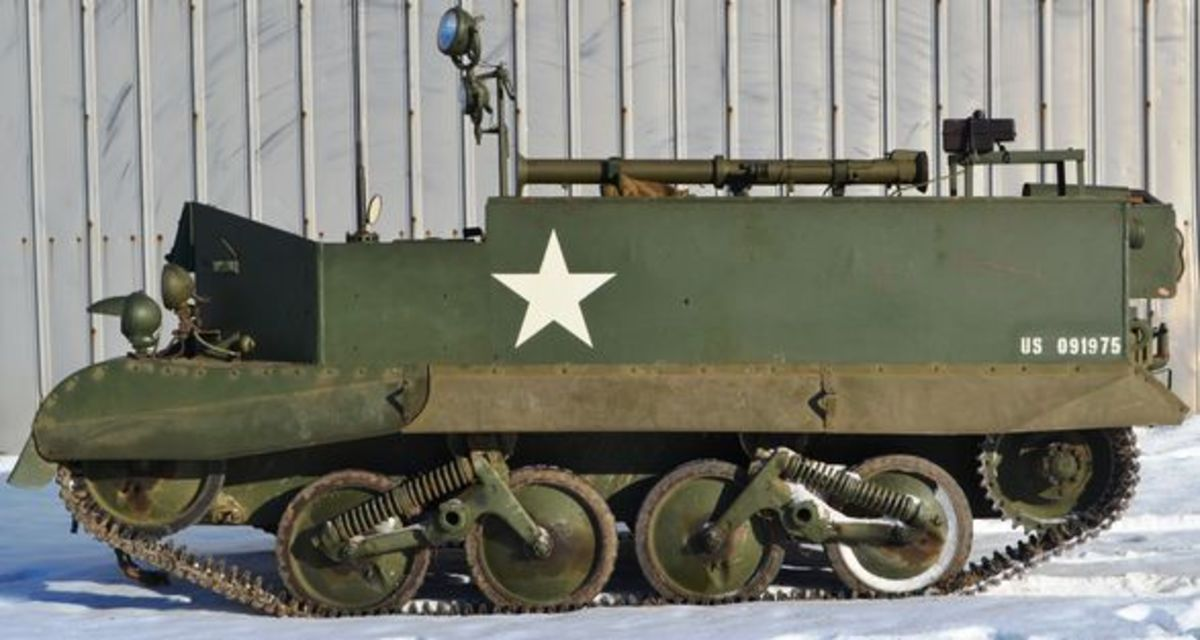 1940 Ford T16 Tracked Universal Carrier