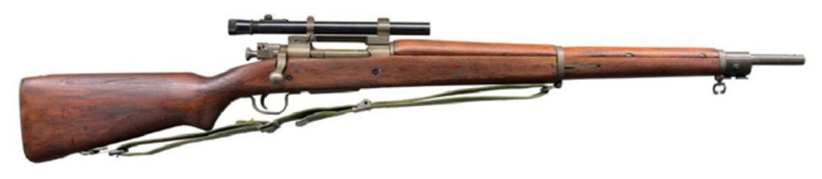 REMINGTON MODEL 03-A4 BOLT ACTION SNIPER RIFLE.Sold for $1,900