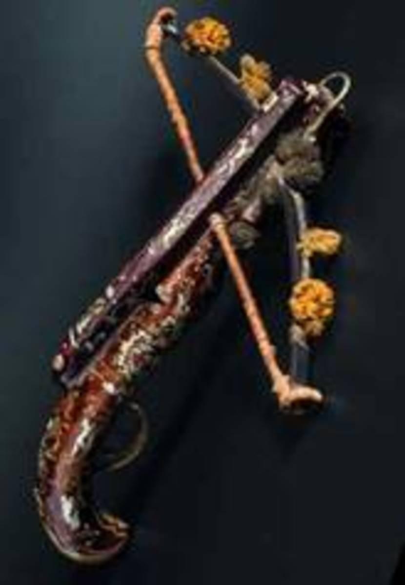 A very rare German deluxe pistol crossbow, circa 1760. HP: 13000 Euros