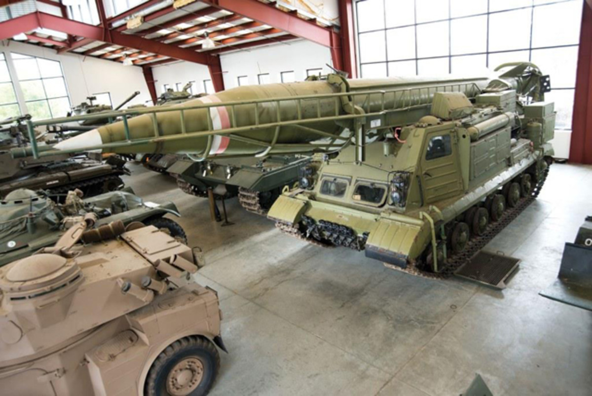 SCUD A Missile Launcher (© 2014 Courtesy of Auctions America)