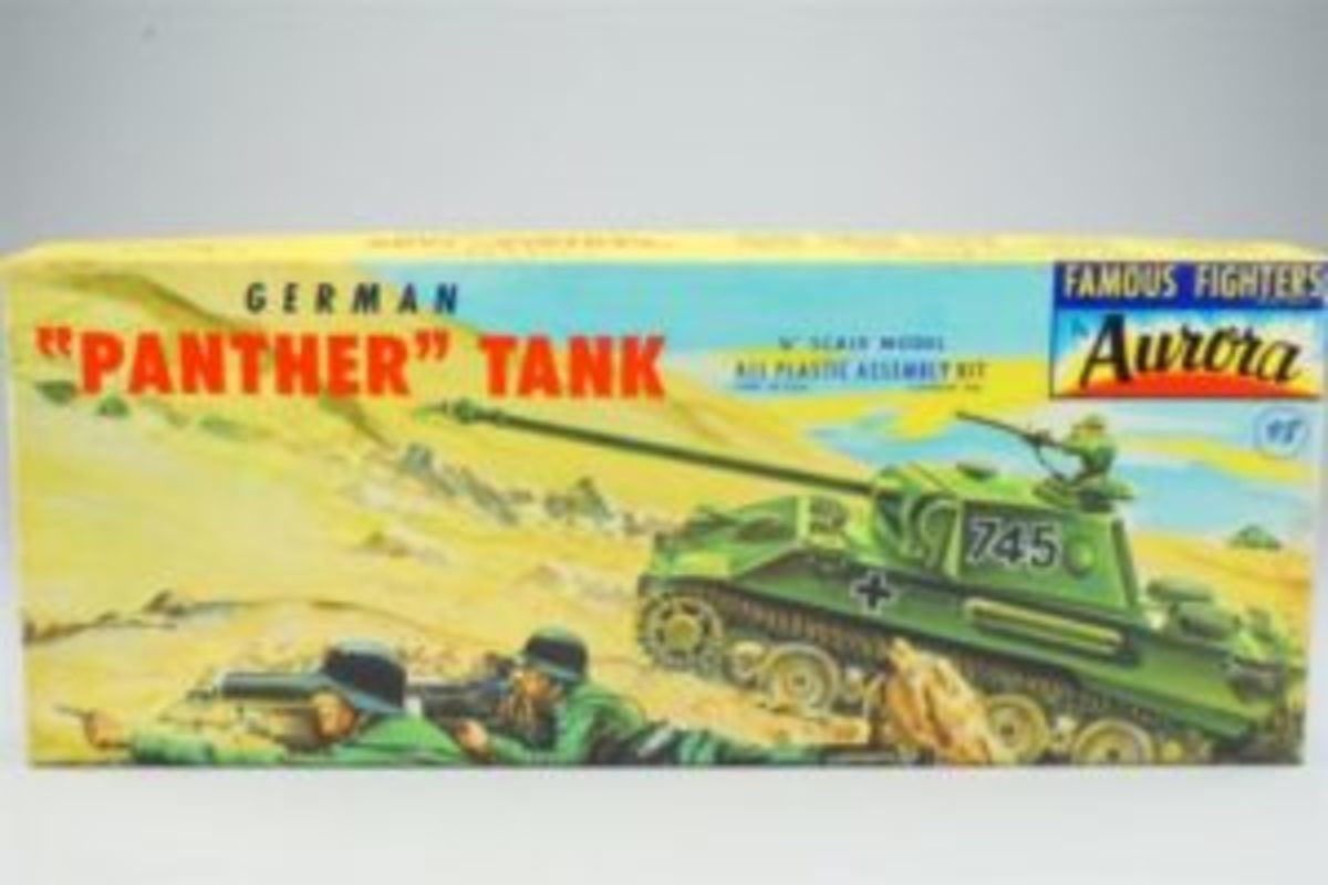 The internet is an amazing time machine, allowing us to see the things that only our memories have preserved. It has been more than 40 years since my brother convinced me he was more adept than me to assemble my first plastic model kit--A German Panther tank.