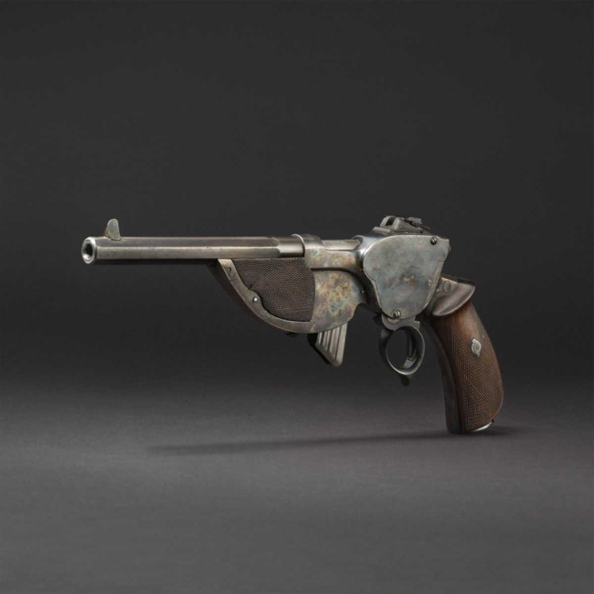 Very good to almost as new Bittner repeating pistol Mod. 1896.