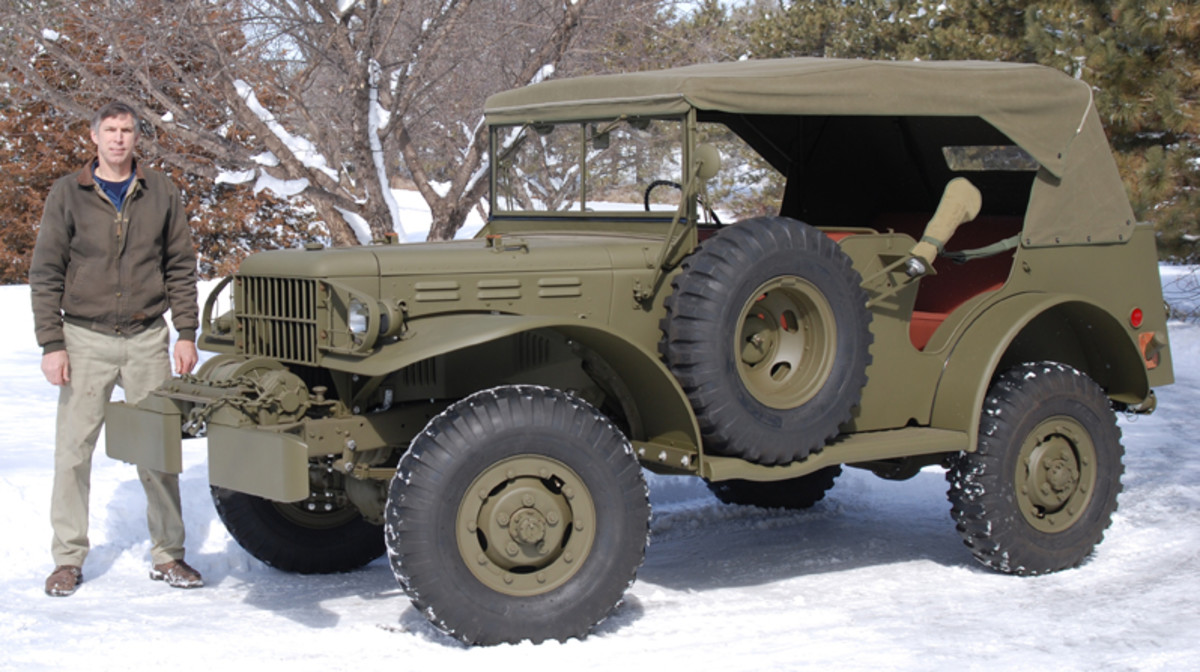 "It wasn't until a group of historic military military vehicle enthusiasts started to compare notes after someone asked, ""Who has restored the most MVPA award winning vehicles?"" that Military Vehicles Magazine started to investigate for an answer. Imagine the surprise when we learned the man who has restored the most MVPA 1st-place award-winning vehicles didn't even have his own shop until just a few years ago. During more than 13 years, Gary Wirth has restored 14 MVPA 1st Place vehicles, averaging a little more than one a year!"