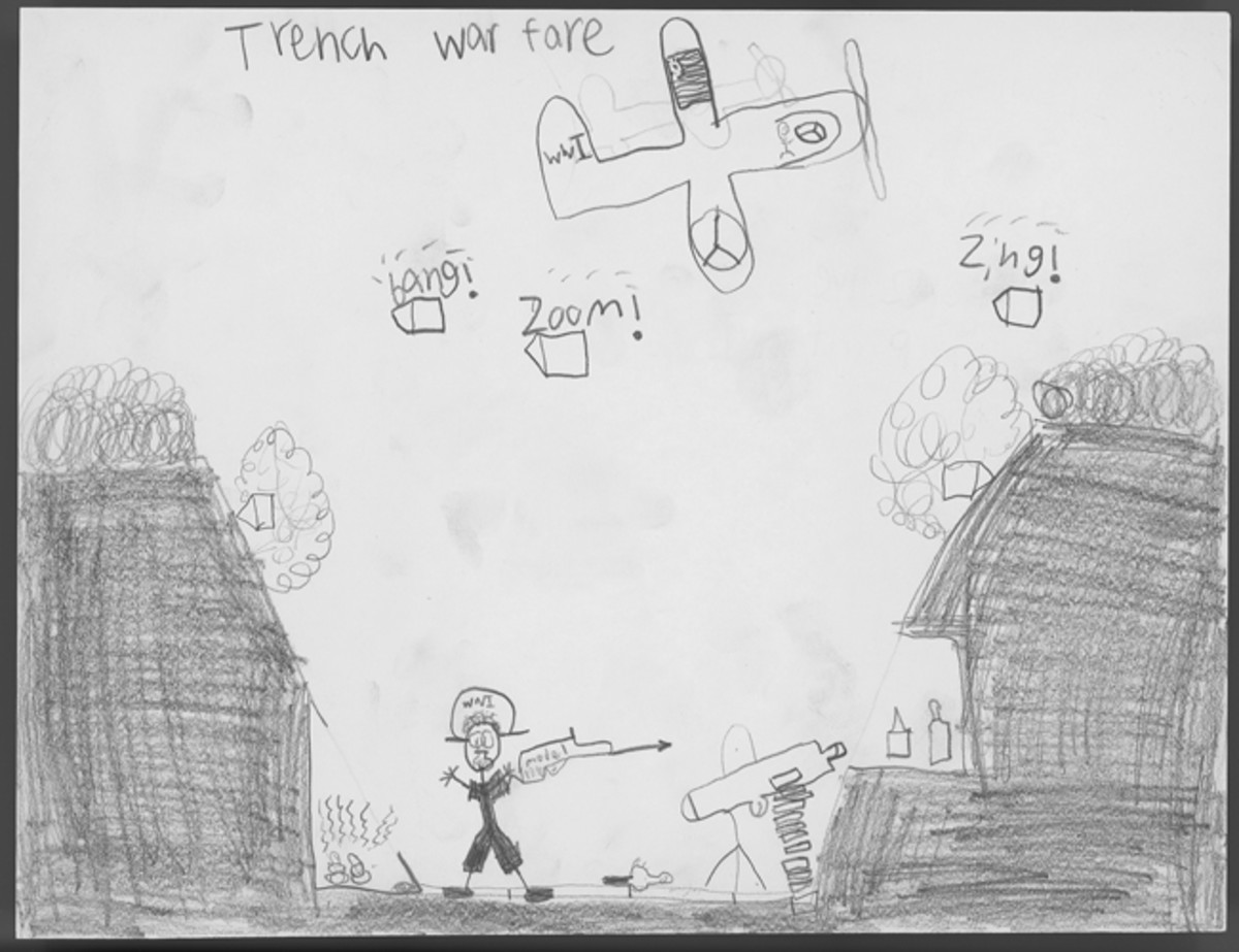 """Trench Warfare,"" by Mason Firkus, Sixth Grade"
