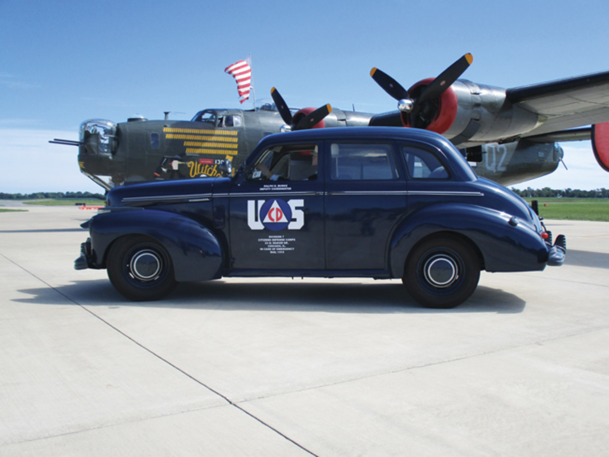 "The rare ""blackout"" Studebaker Champion conveys an important story of World War II — that of the Civilian Defense"