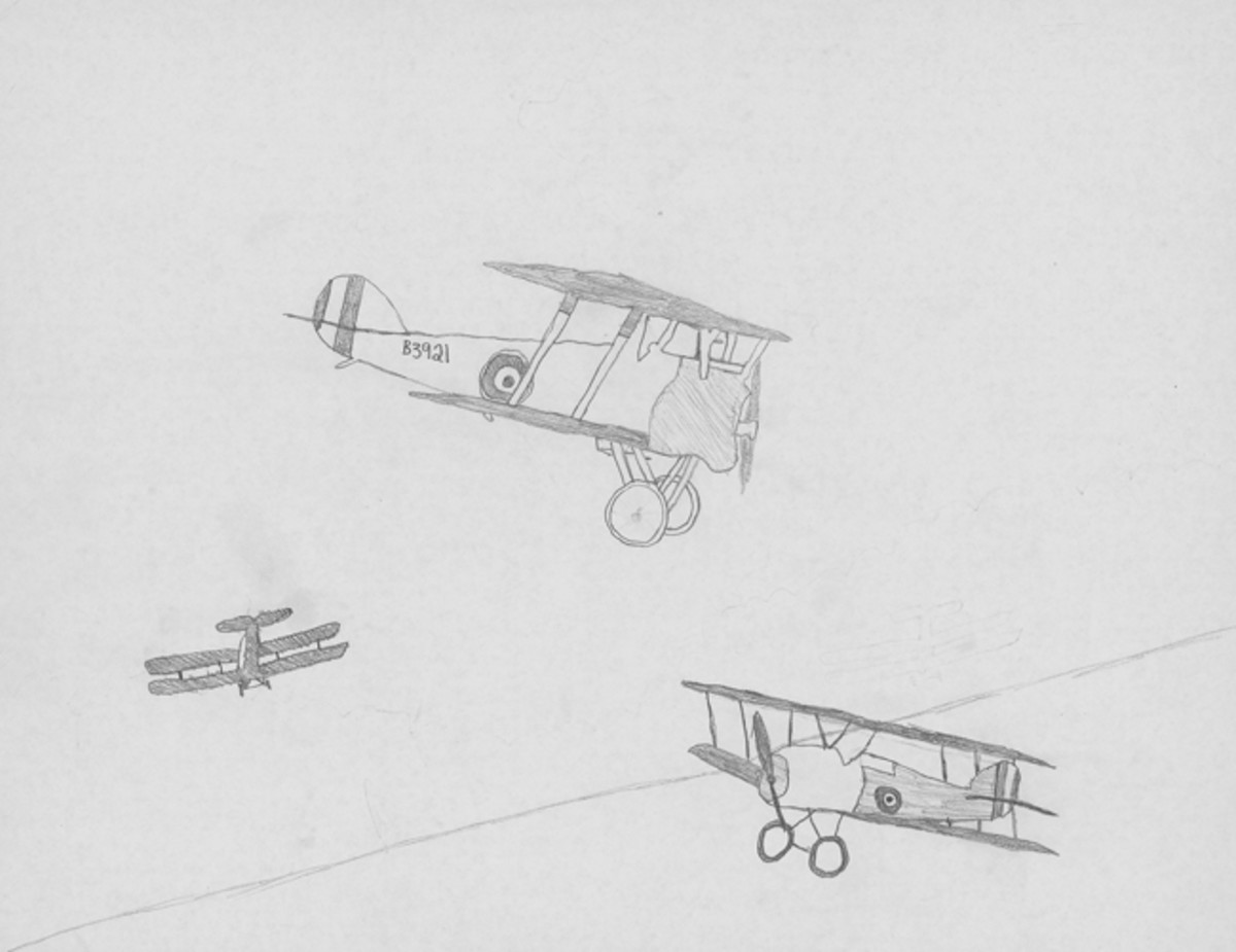 """WWI Fighter Planes,"" by Maria Vitt, Sixth Grade"