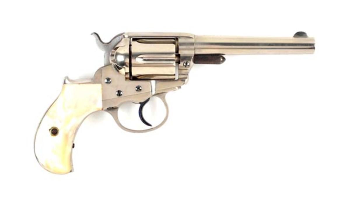 ear New Colt Lightning Etched Panel Revolver