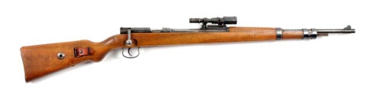 Rare Scoped Mauser M98 Sniper Rifle