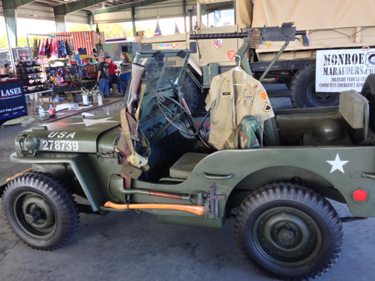 Restored WWII Jeep.