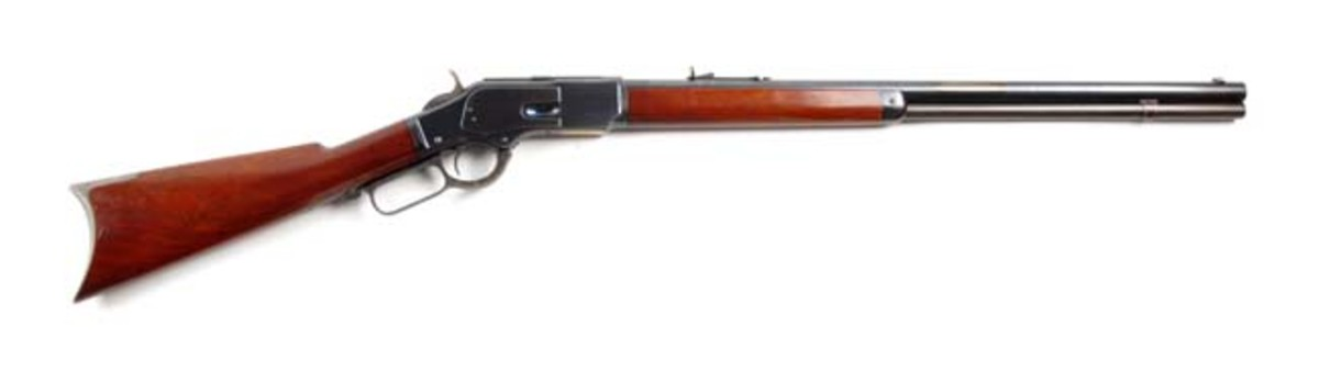 Exceptional Winchester Model 1873 L.A. Rifle