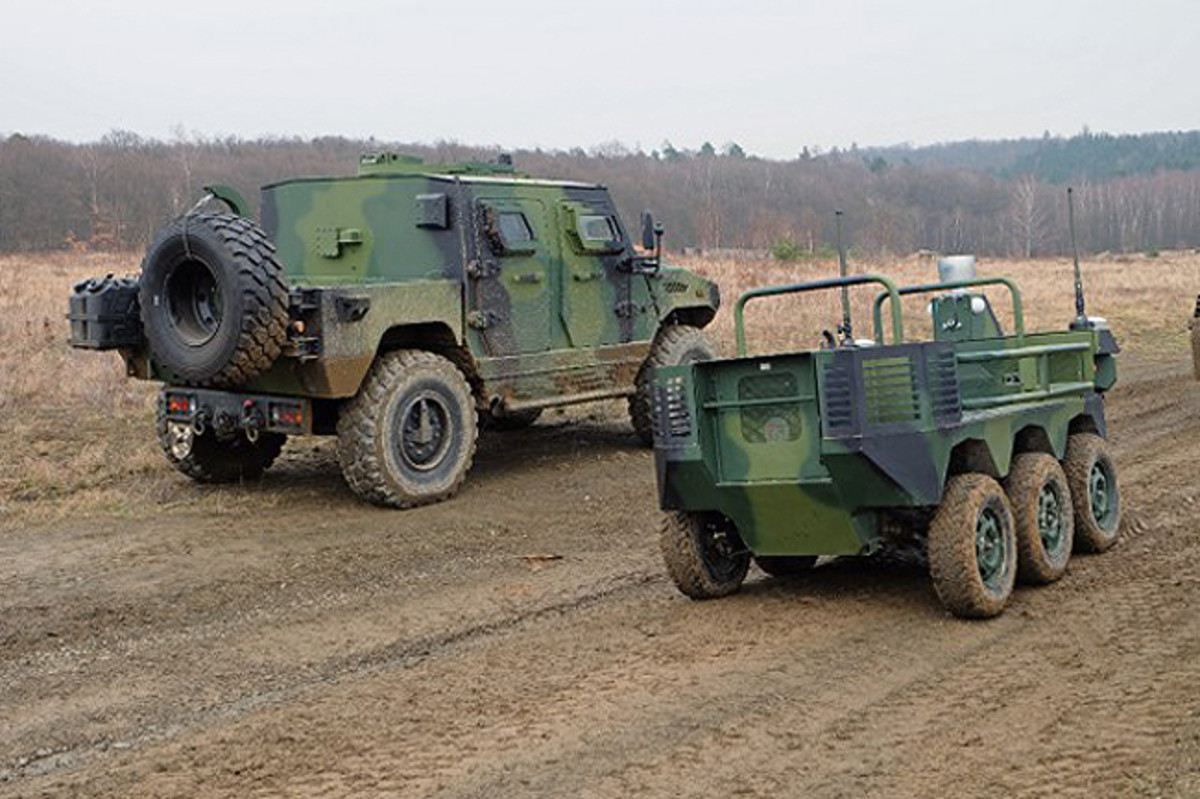 The UGV TAROS V2 automated robotic ground system is intended for combat and logistics support of mechanised, reconnaissance and special units, in difficult operating environments with a high degree of risk. The TAROS V2 automated robotic ground system is conceived as a module system, when individual 4x4 and 2x2 modules can be used to create a robotic TAROS V2 vehicle in 4x4/6x6/8x8 configurations, with the option of equipping it with components from a wide range of accessories, including weapons and robotic and sensor systems.