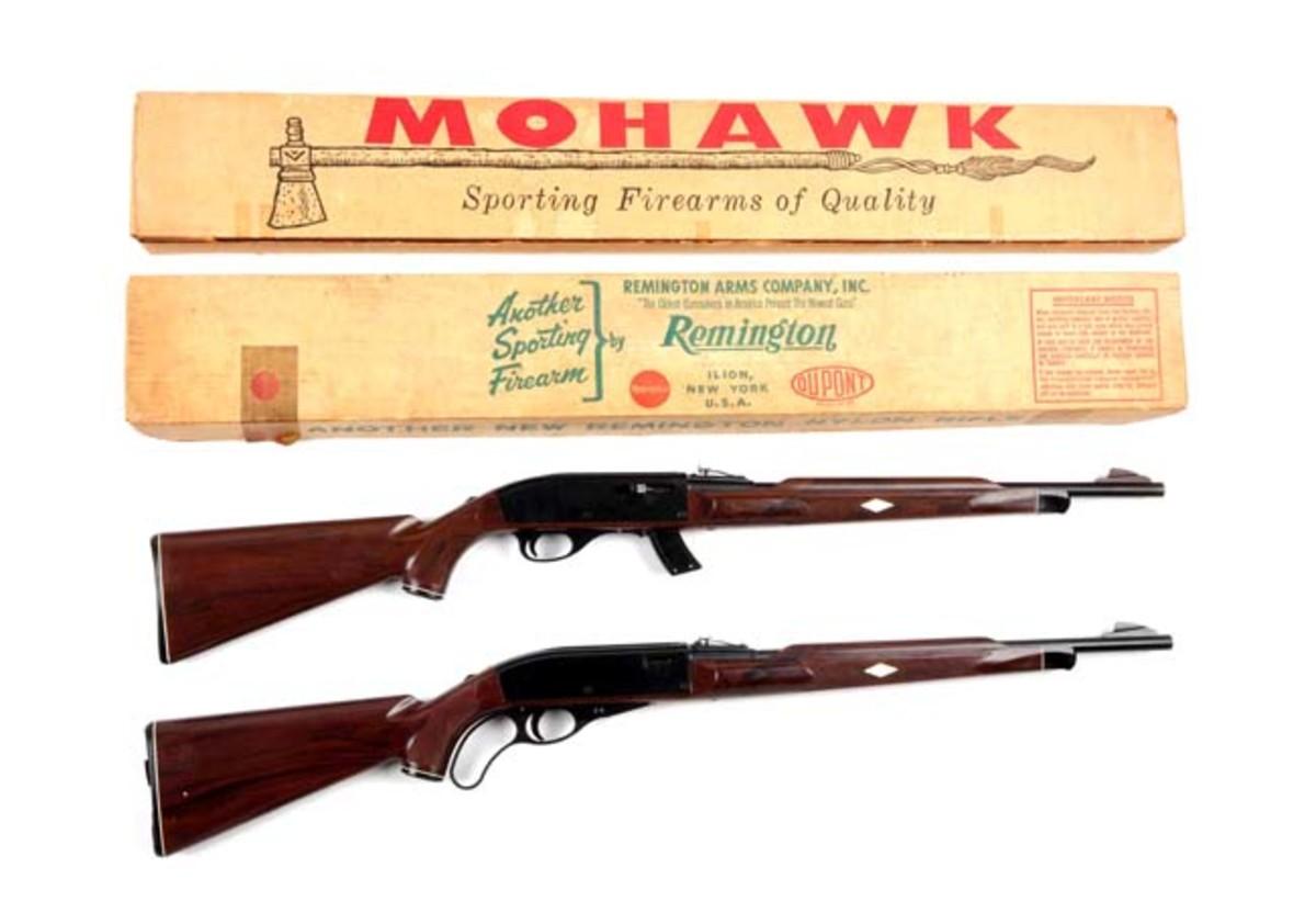 Two Boxed Remington Nylon Rifles