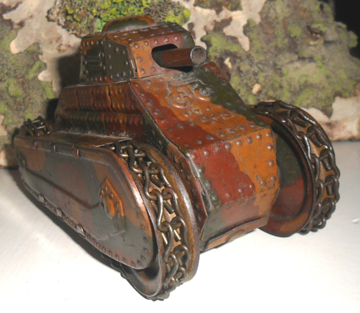 Panzer I made by Lineol.
