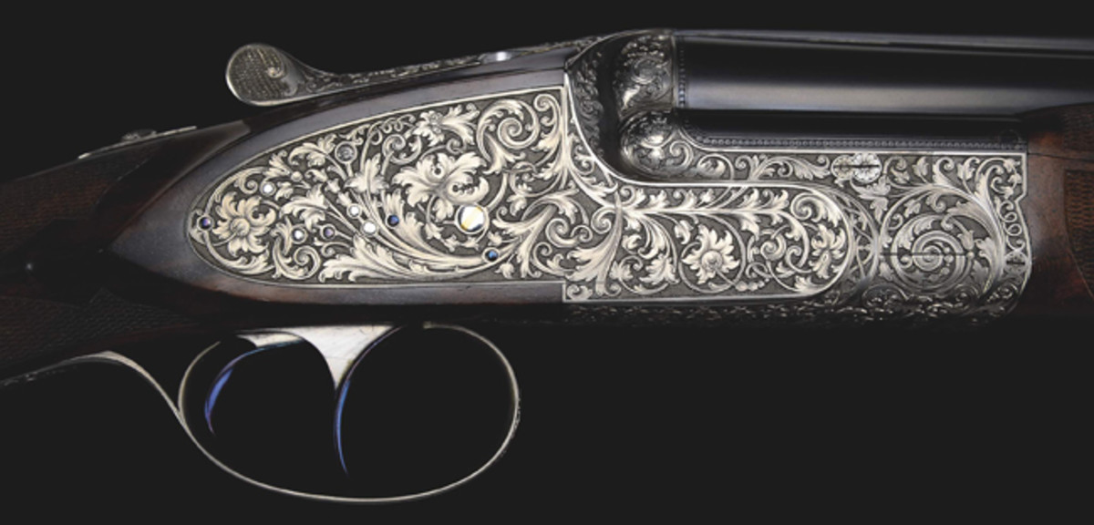 "A Lebeau Courally 20 bore ""Boss Verrees"" O/U in excellent condition comes from the William Larkin Moore Estate Collection."