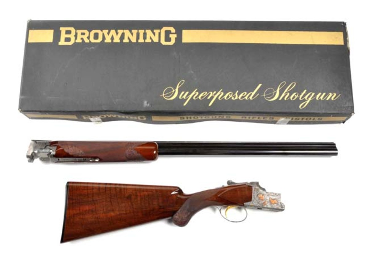 MIB Browning Superposed 20 Ga. O/U Shotgun