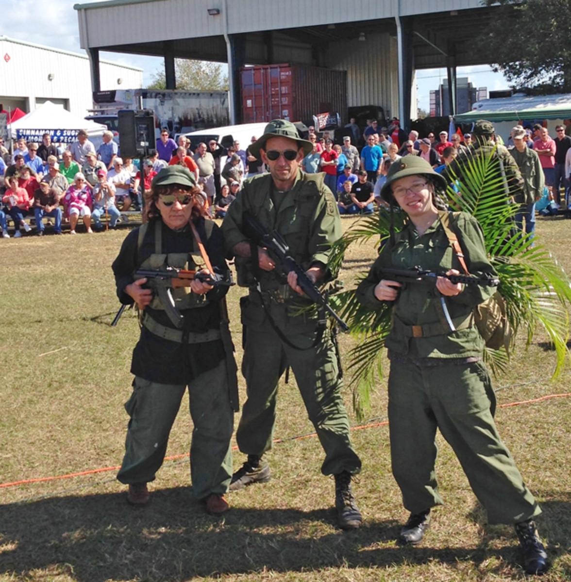 Dogs of War Vietnam Re-enactors