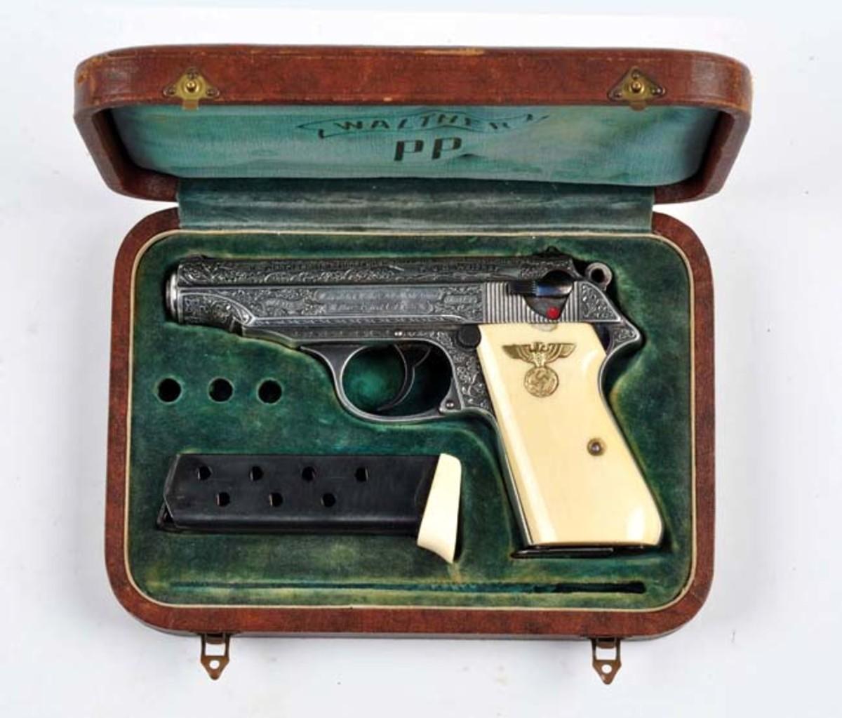 Presentation Engraved Nazi Walther PP Pistol