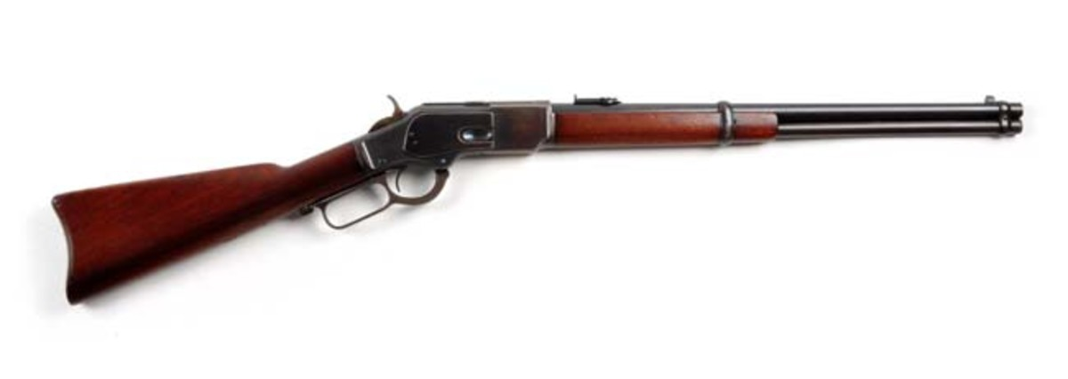 Exceptional Winchester Model 1873 .44 S.R.C.
