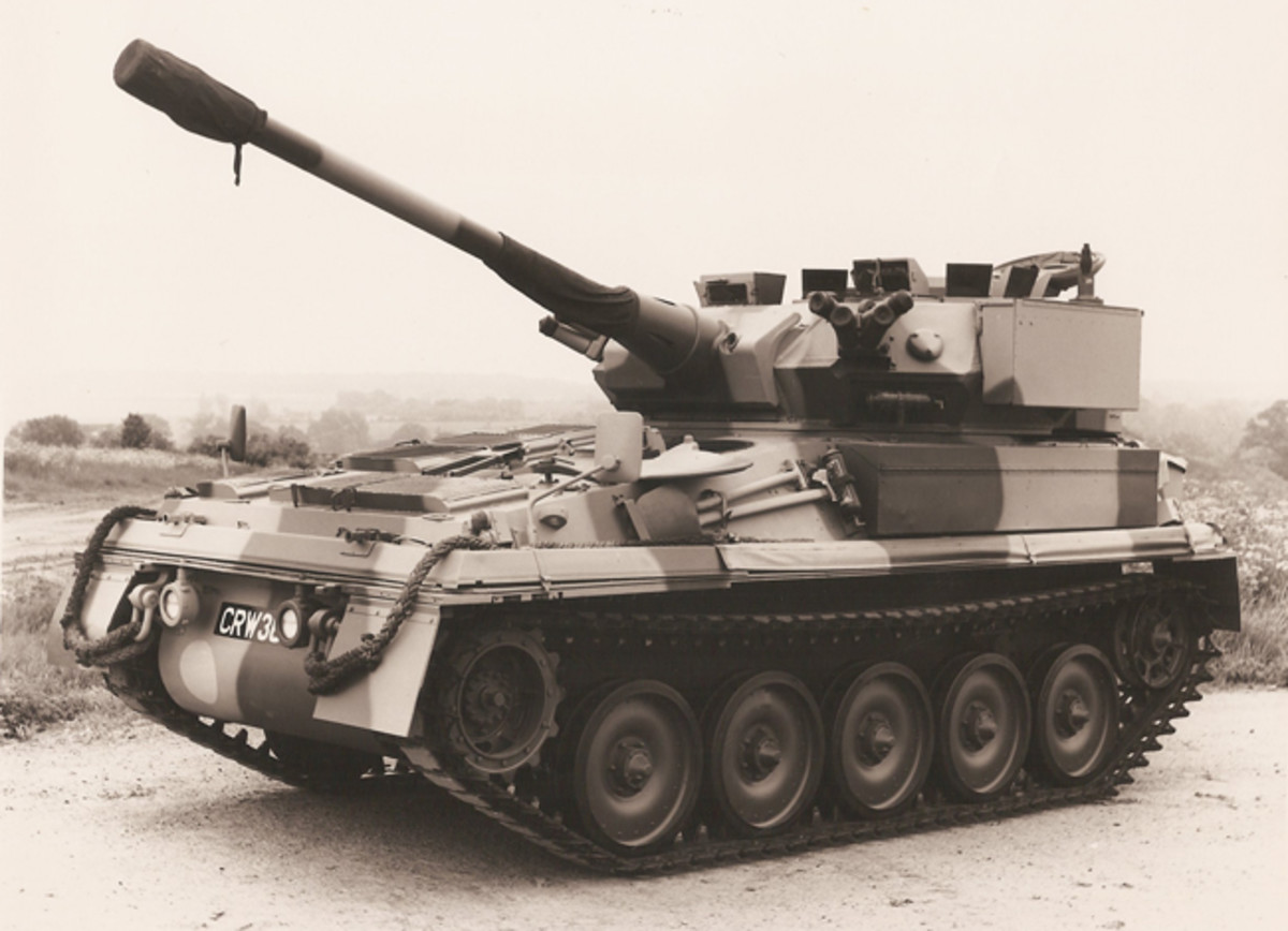 The up-gunned version of the Scorpion armed with a 90mm main gun.