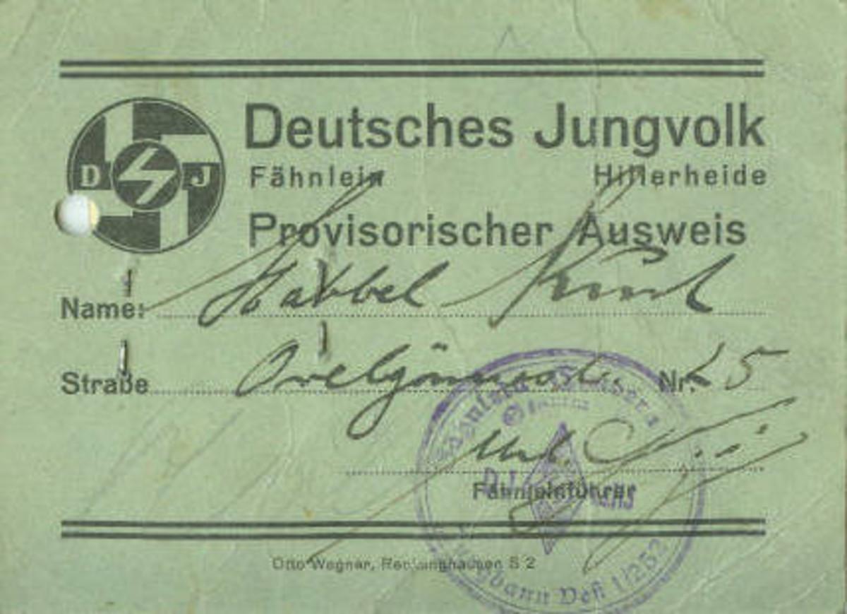 Figure-1 DJ Provisional ID Card Obverse