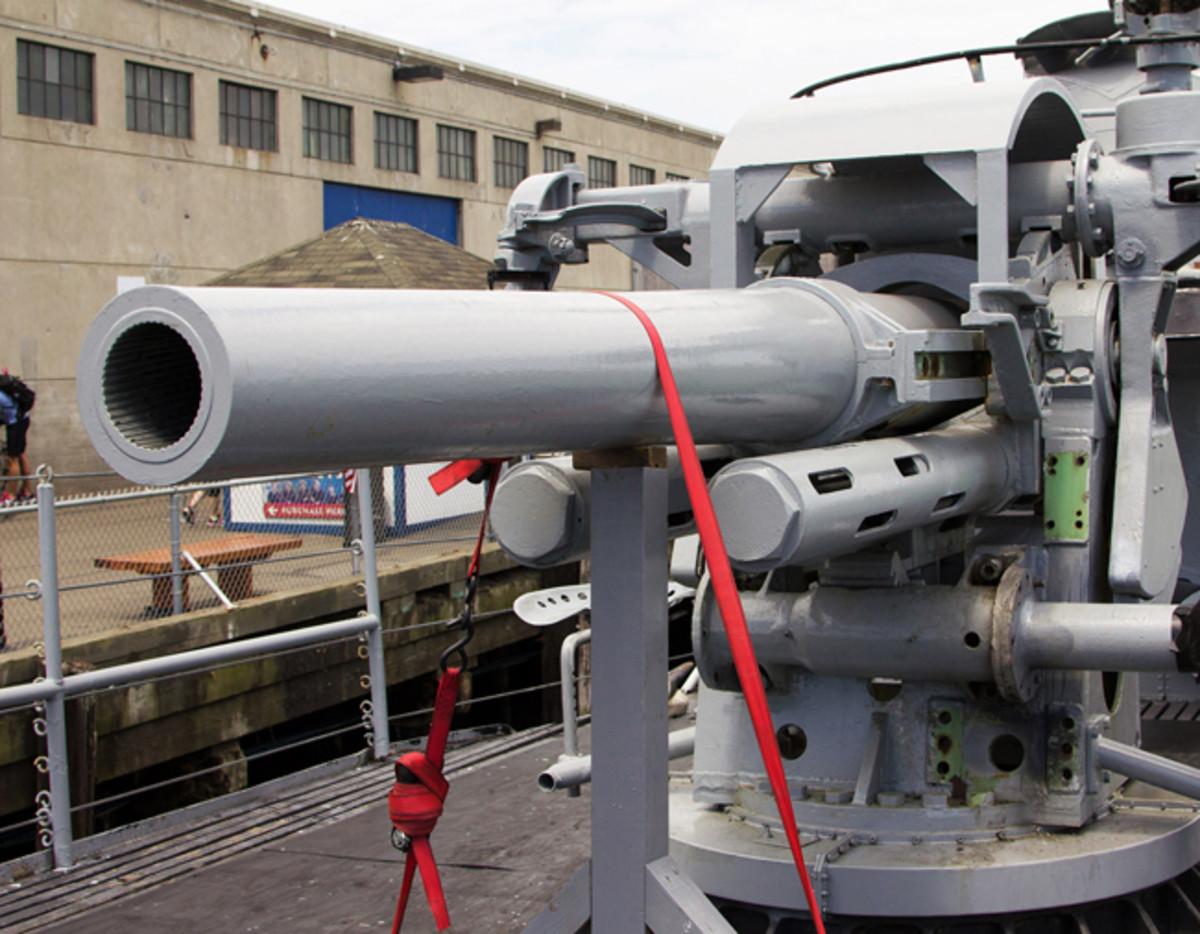 WWII Submarine Big Gun