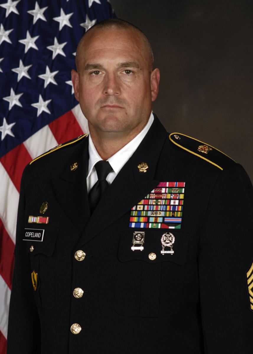 Sergeant Major Ted L. Copeland