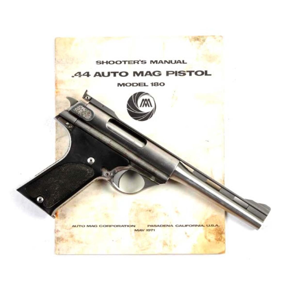 Auto Mag Model 180 .357 AMP Prototype Pistol