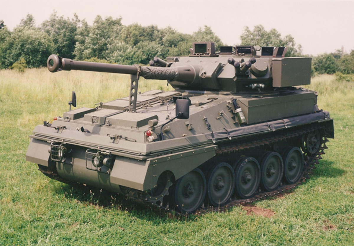 The 90mm gun version is in service with at least two countries.