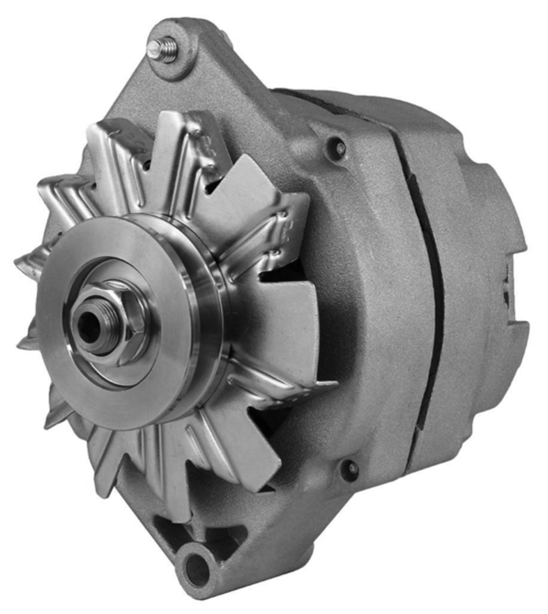 You will need to replace your alternator with a Delco single wire alternator. These are readily available online or at your local auto electric store. For most historic military vehicles (HMVs), a 60-amp is more than adequate.