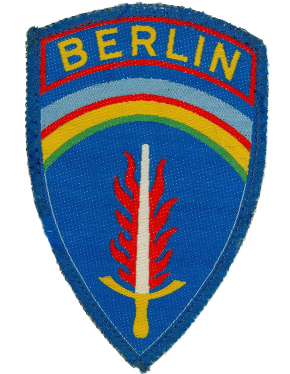 After the end of WWII, Allied forces occupied West Berlin. This occupation lasted throughout the Cold War. The Berlin Brigade was the brigade-sized garrison of British and American forces based there. The French Army also had units in Berlin, called Forces Françaises à Berlin.