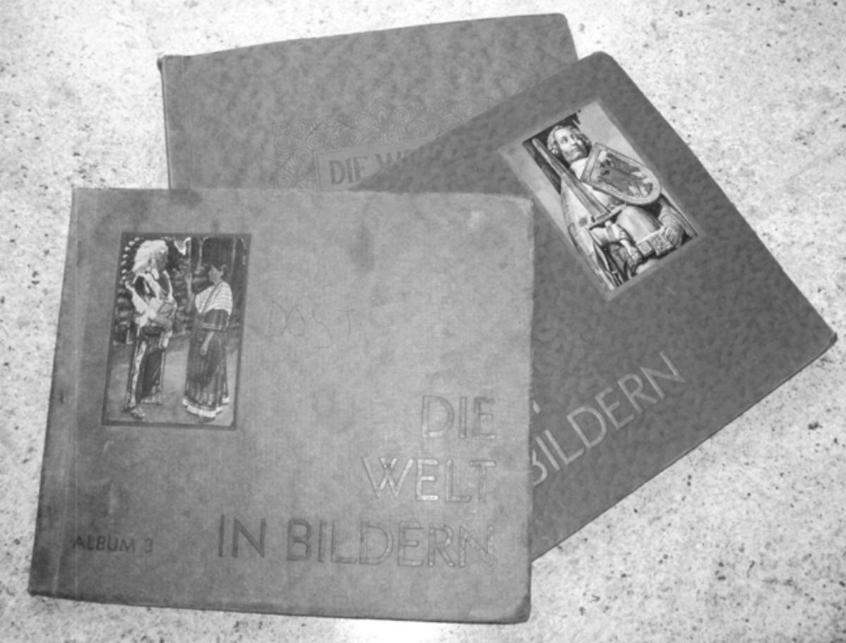 Albums of the 1920s were typically smaller and less grandiose than the Nazi period pieces.