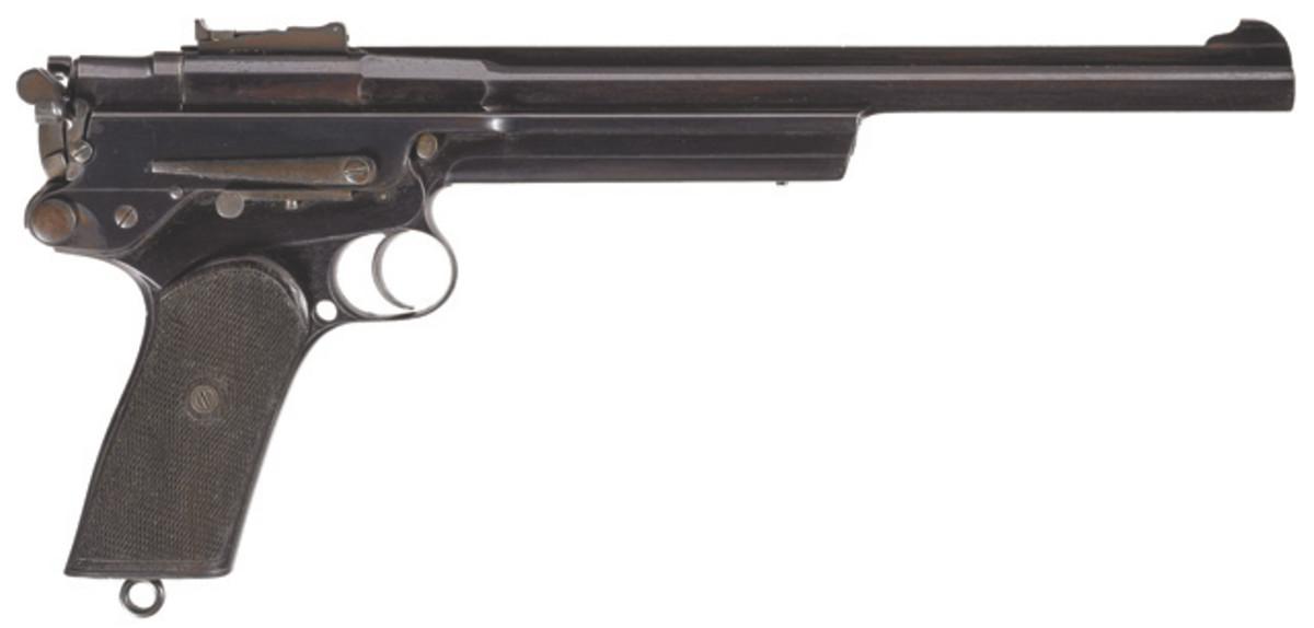 LOT1438-Exceptionally Rare Serial Number 4 Gabbet Fairfax MARS .360 Semi-Automatic Pistol