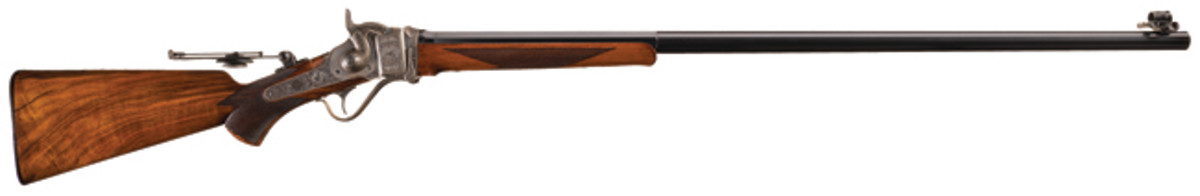 L.D. Nimschke Engraved, Sharps Model 1874 Long Range No. 1 Rifle with Extensive Documentation