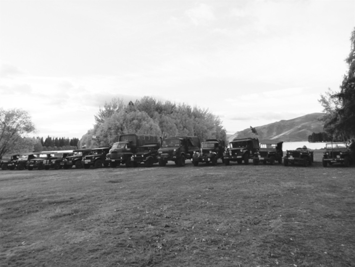 "When you become involved in the hobby, you will find a variety of methods for enjoying your historic military vehicle (HMV). Many owners enjoy ""convoying"" over long distances. These organized events give you the chance to experience the joys and pitfalls of driving your vehicle over long distances while seeing new places and forging lasting relationships. This is the lineup of HMVs participating in the 2018 Armistice 100 Convoy in New Zealand."