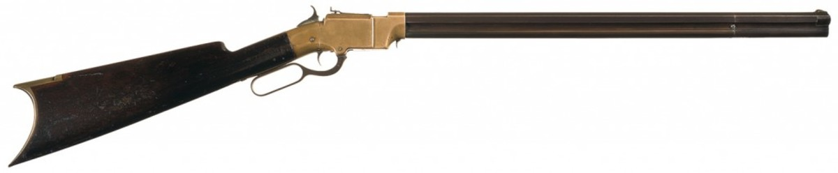 LOT1-New Haven Arms Company Volcanic Lever Action Carbine with Desirable 21 Inch Barrel