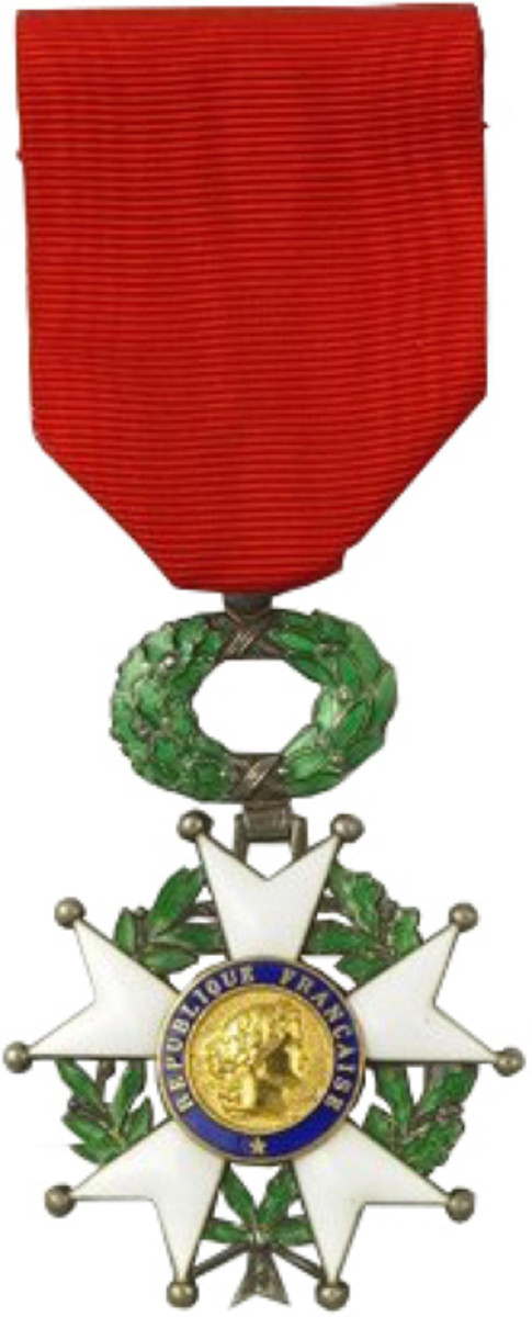 The decoration, the Legion of Honour, was established to recognize extreme merit by French citizens in either military or civilian life. However, the publicly incorporated body that regulates the award authorizes its presentation to select foreign nationals who have served France, including some allied combat veterans who fought on French soil.