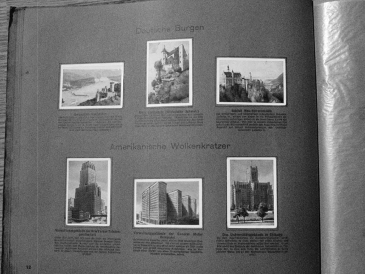 America's massive buildings dwarfed the ancient landmarks of Europe.